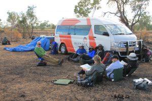 Team debrief Kimberley